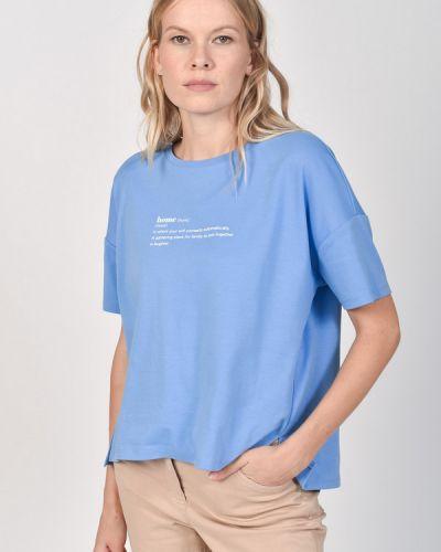 Хлопковая футболка Comma