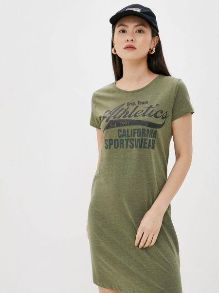 Футбольное зеленое платье Sublevel