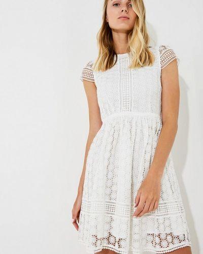 Белое платье French Connection