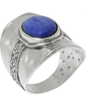 Кольцо из серебра свободного кроя Den'o