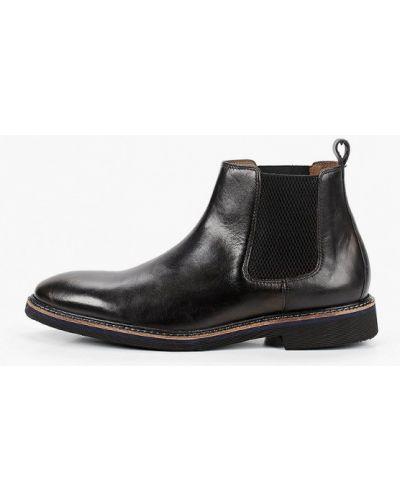 Кожаные черные ботинки челси Salamander