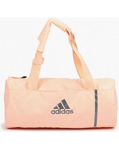 Розовая спортивная сумка Adidas