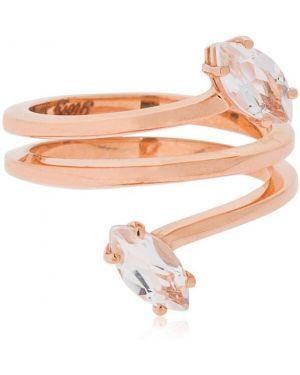 Złoty pierścionek kwarc Bea Bongiasca