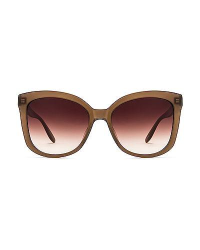Brązowe okulary skorzane Barton Perreira