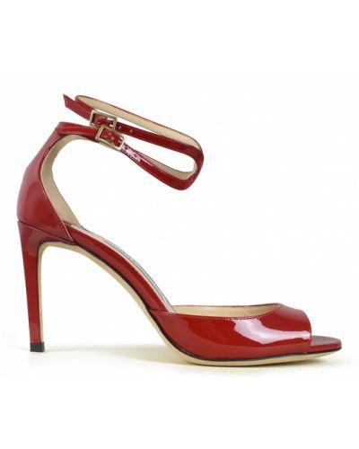 Sandały - czerwone Jimmy Choo