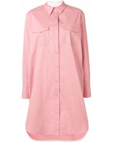Платье розовый платье-рубашка Calvin Klein