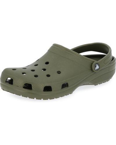 Облегченные зеленые шлепанцы для бассейна Crocs