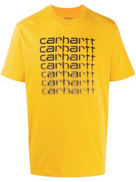 Koszula krótkie z krótkim rękawem z logo prosto Carhartt Wip