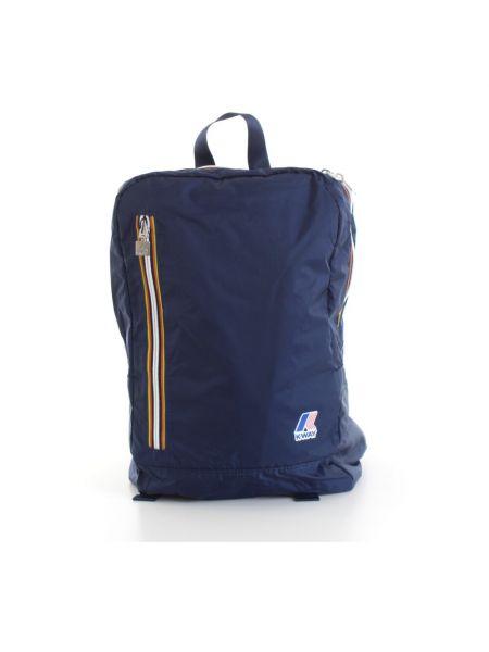 Niebieski plecak sportowy K-way