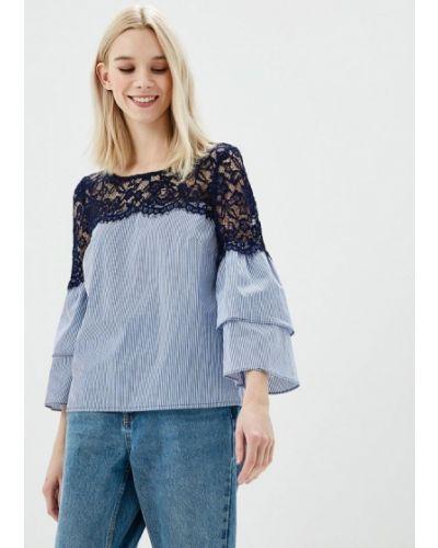 Голубая блузка Naf Naf