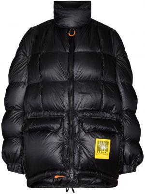 Пуховая черная куртка R13