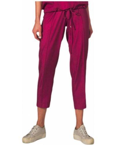 Fioletowe spodnie z niskim stanem Figl