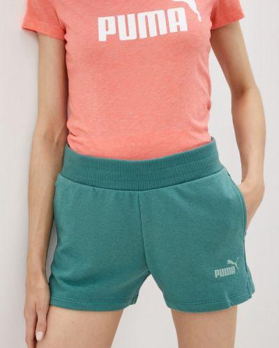 Спортивные шорты - бирюзовые Puma