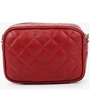 Кожаная сумка - красная Pulicati