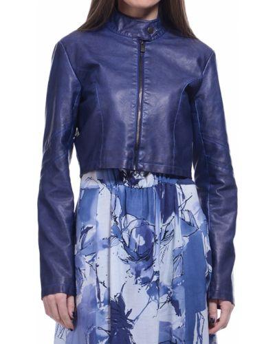 Синяя куртка весенняя Trussardi Jeans