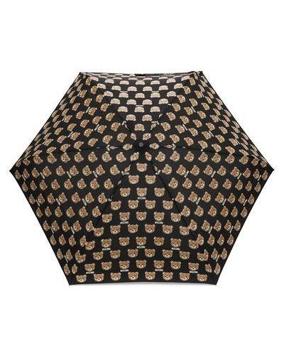 Складной зонт металлический Moschino