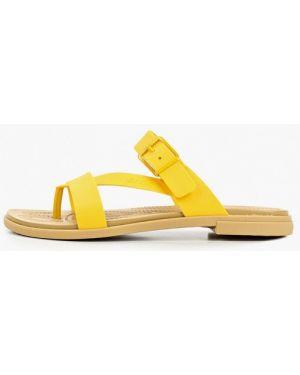 Сланцы пляжные желтый Crocs