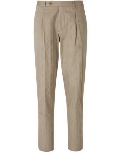 Szare spodnie Etro