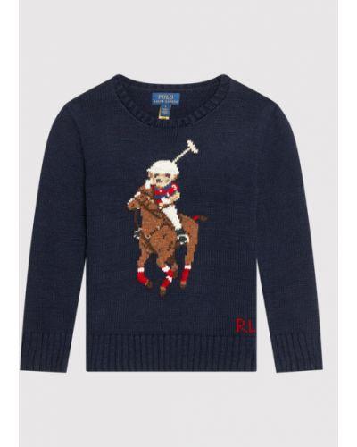 Sweter - granatowy Polo Ralph Lauren