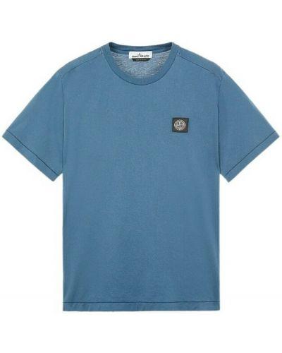 Niebieska t-shirt Stone Island