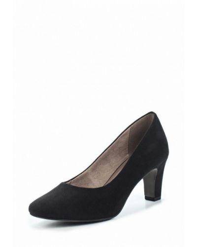 Туфли замшевые на каблуке Tamaris