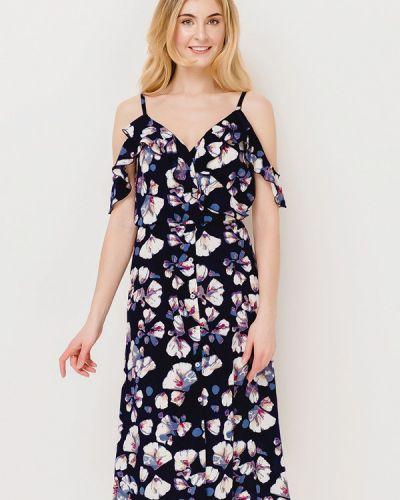 Платье весеннее синее Escena