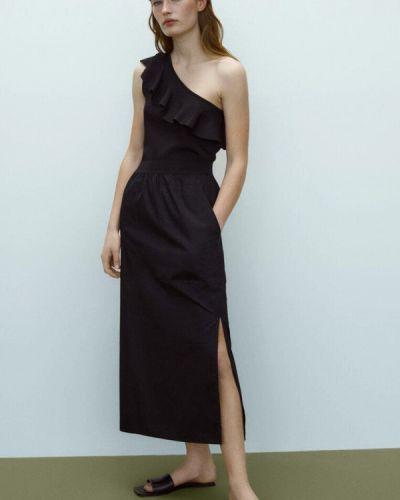 Черная юбка Massimo Dutti