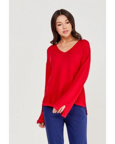Красный пуловер United Colors Of Benetton
