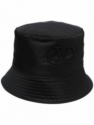 Czapka bawełniana - czarny Valentino
