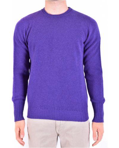 Fioletowy sweter Drumohr