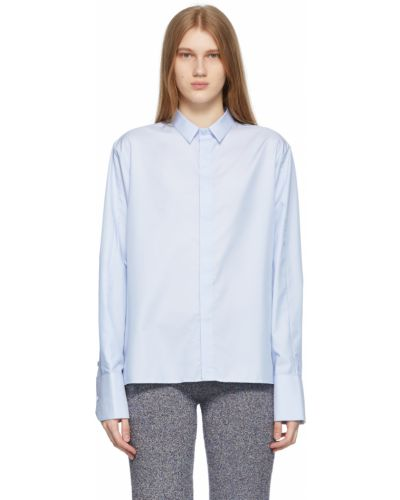 Koszula z haftem - niebieska Ader Error