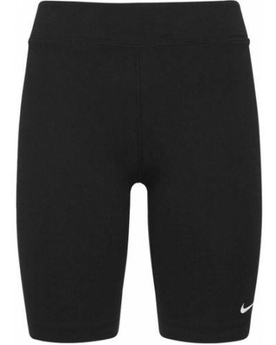 Черные шорты с вышивкой Nike