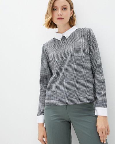 Блузка с длинными рукавами - серая Zolla