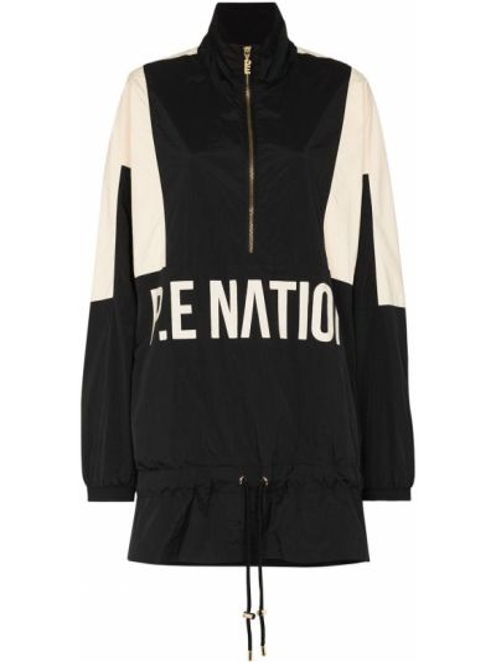 Длинная куртка - черная P.e Nation