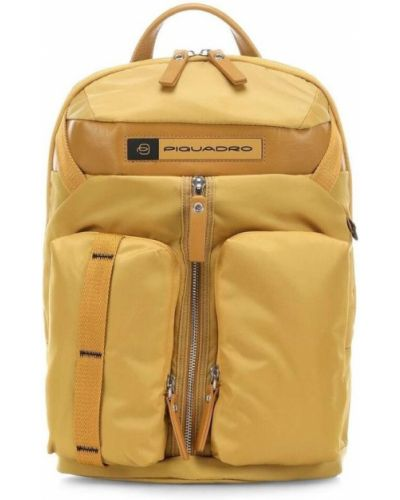 Żółty plecak Piquadro