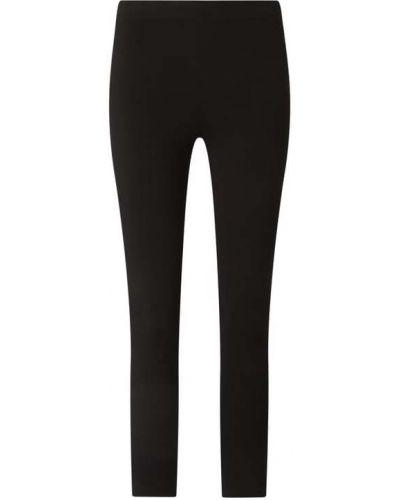 Czarne spodnie z nylonu Fransa