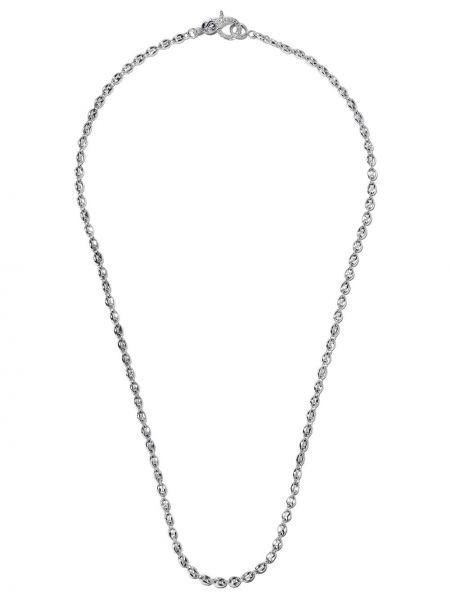Серебряное ожерелье с бриллиантом Loree Rodkin