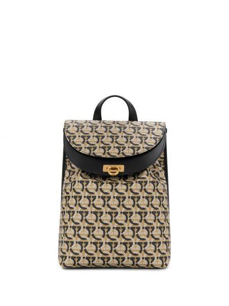 Кожаный рюкзак Salvatore Ferragamo