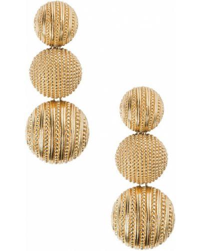 Серьги винтажные удлиненные Christian Dior Vintage