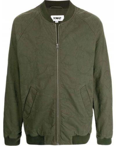 Zielona kurtka bawełniana Ymc