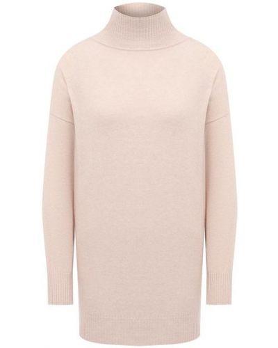 Кашемировый розовый пуловер Pietro Brunelli