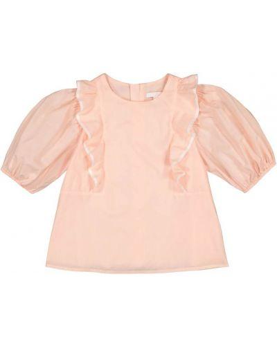 Bawełna różowy bawełna top Chloã© Kids