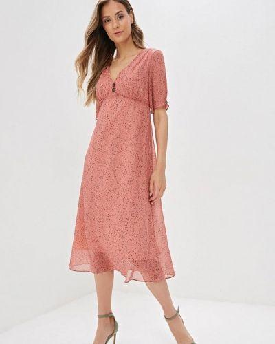 Платье розовое прямое Nastasia Sabio