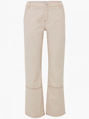 Niebieskie jeansy bawełniane By Malene Birger