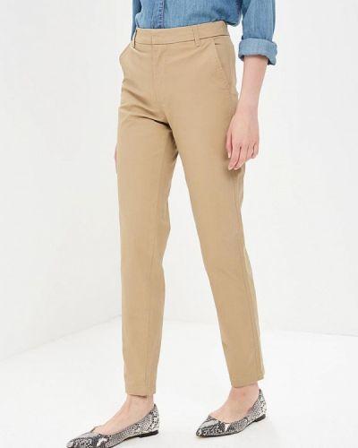 Бежевые брюки Modis
