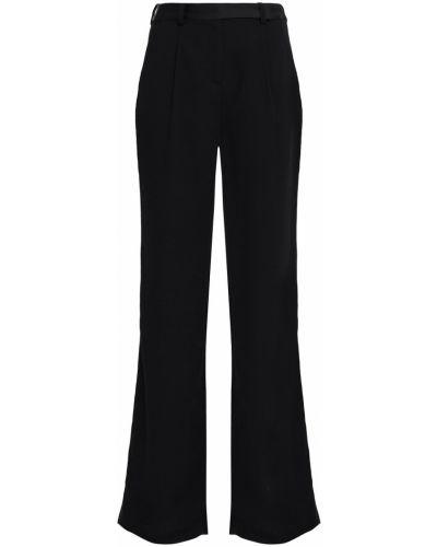 Черные брюки с поясом свободного кроя Ba&sh