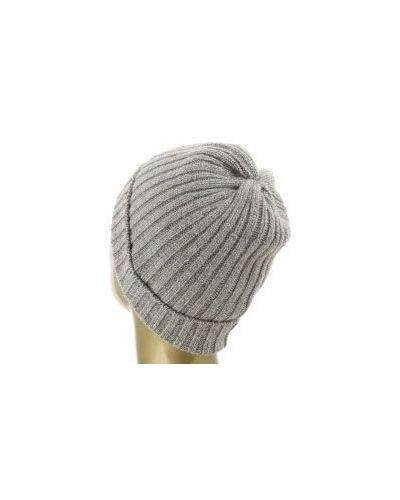 Коричневая шапка кашемировая Fedeli