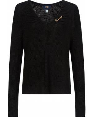 Шерстяной свитер - черный Cavalli Class