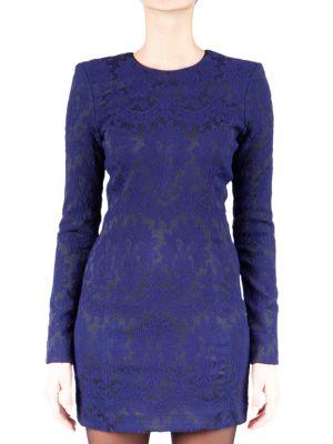 Платье из полиэстера - синее Plein Sud