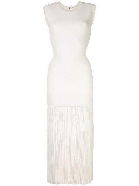 Платье плиссированное на молнии Dion Lee